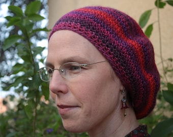 Rubies and Amethyst Beret
