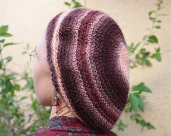 Peaches and Cinnamon Beret