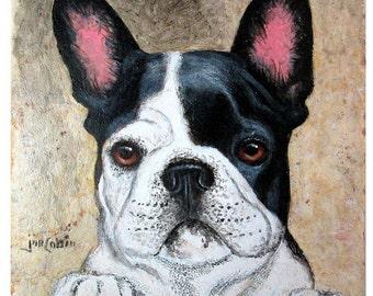 Handpainted Art, Display Art, Original Art, Custom Art, Acrylic, Colored Pencil, Natural Stone Tile