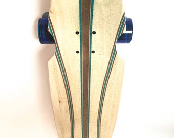 Infused Double Kick Dancer Handcrafted Longboard