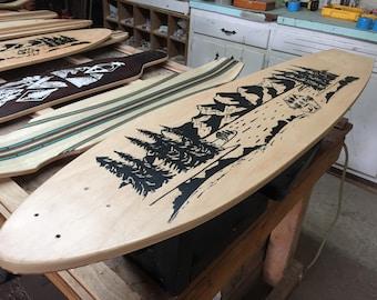 Handcrafted Reclaimed Longboard