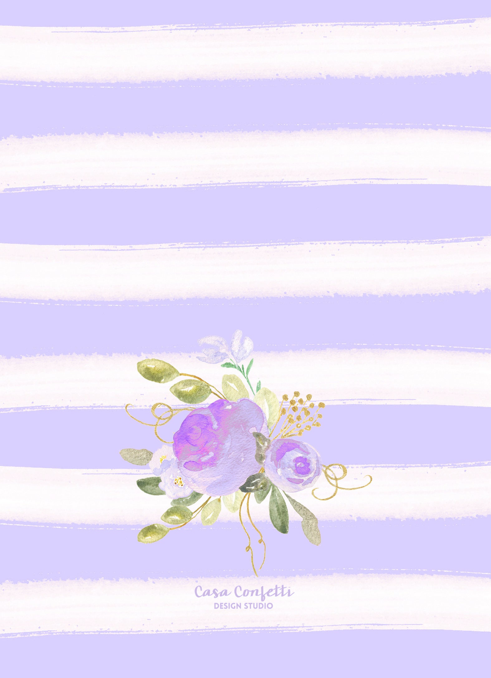 Tea Party Birthday Invitation Tea Party Invitation Lavender