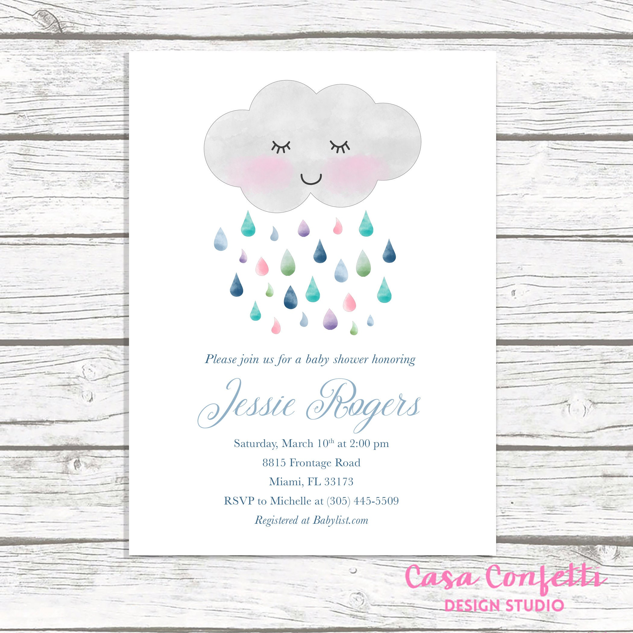 Cloud baby shower invitation rainbow baby shower invitation gender cloud baby shower invitation rainbow baby shower invitation gender neutral baby shower invitation baby shower invite printable invite filmwisefo