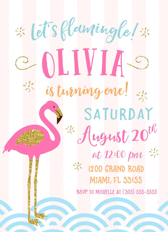Flamingo Invitation Let S Flamingle Invitation Flamingo