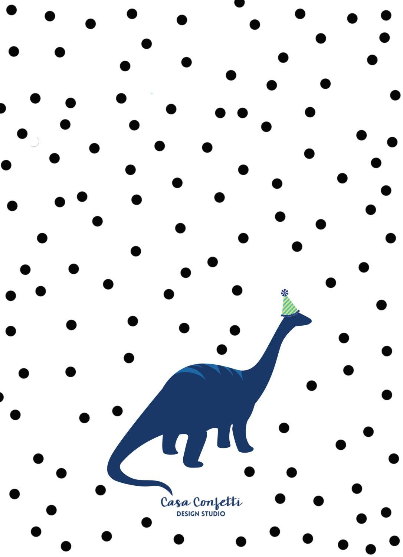 Dinosaur Birthday Invitation, Dinosaur Invitation, Dinosaur Birthday ...