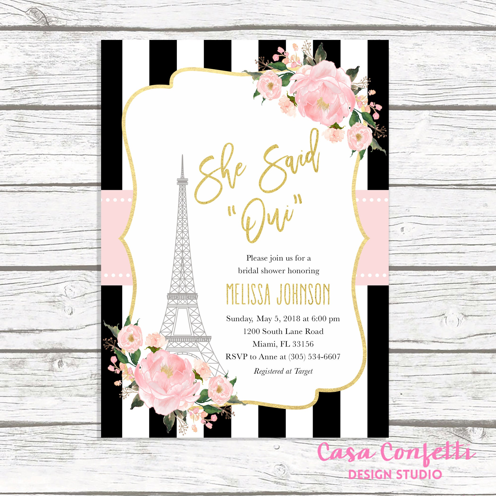 Paris bridal shower invitation french bridal shower invitation paris bridal shower invitation french bridal shower invitation eiffel tower bridal shower invitation she said oui parisian invite filmwisefo