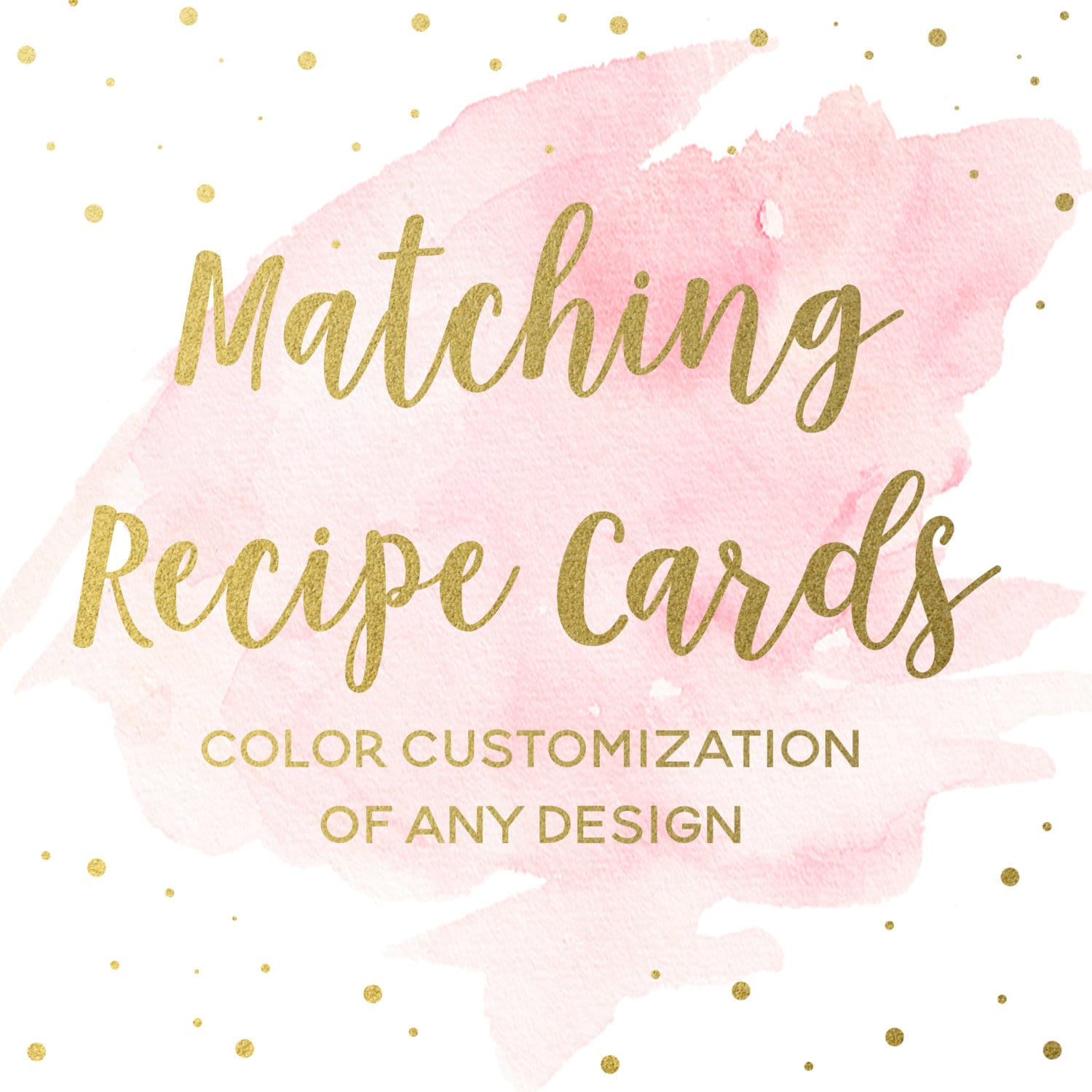 matching recipe cards for any bridal shower invitation design printable kitchen shower inserts shower games coordinating inserts