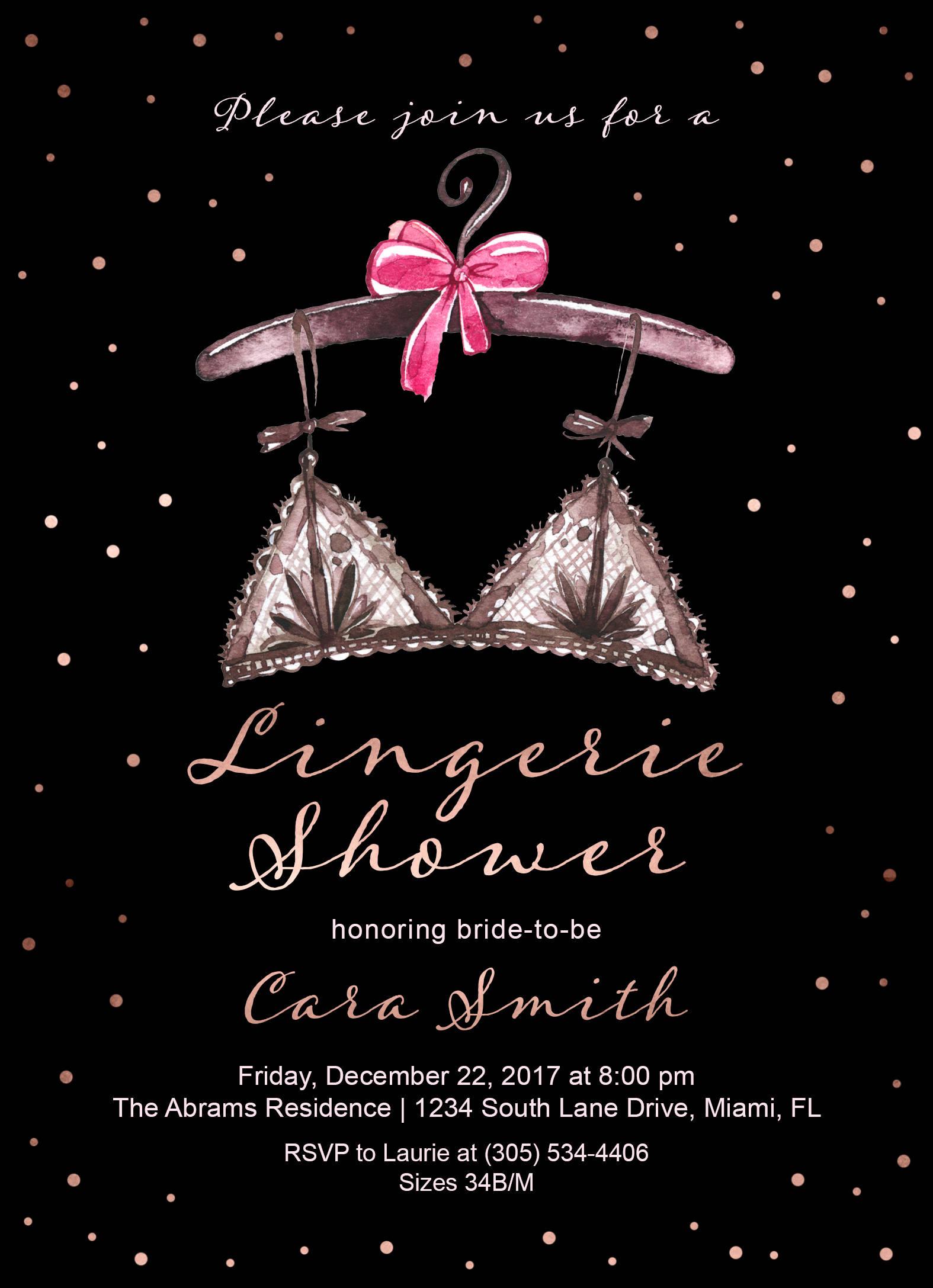 lingerie shower invitation lingerie bridal shower invitation rose gold bridal shower invitation ooh la la lingerie shower printable