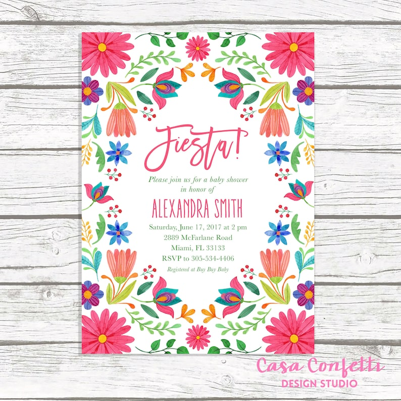 Mexican Baby Shower Page 2 6000 Baby Shower Invitations