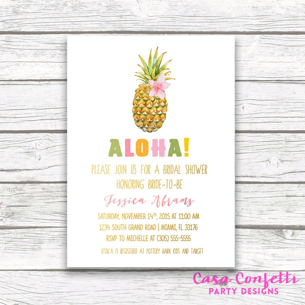 Tropical bridal shower invitation pineapple invitation pineapple tropical bridal shower invitation pineapple invitation pineapple bridal shower invitation luau bridal shower invitation printable invite filmwisefo
