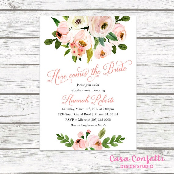 Rustic bridal shower invitation garden bridal shower etsy image 0 filmwisefo