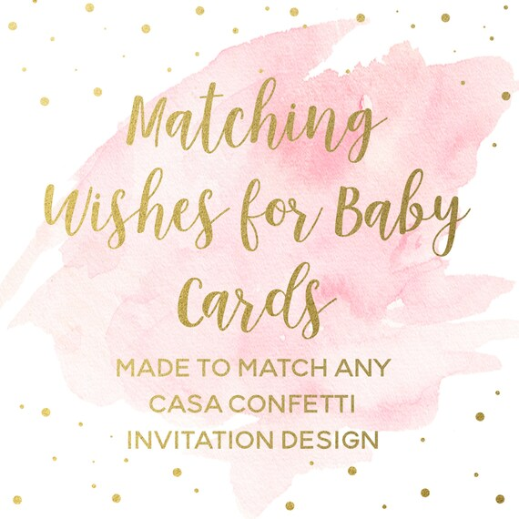 image about Printable Baby Cards identify Matching Need Desires for Child Playing cards for any Invitation