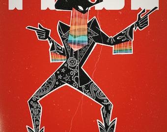 Proud Cowboy - Orville Peck Illustration