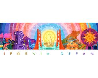 California Dreaming - LE Commemorative Art Print