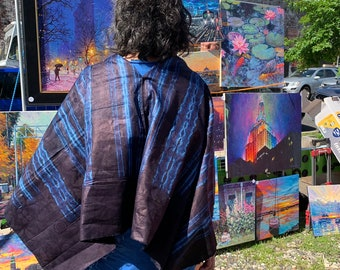 Lipy Indigo Capelet from anonadejuana.com
