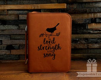 Custom Scripture Case - The Lord Is My Strength & My Song