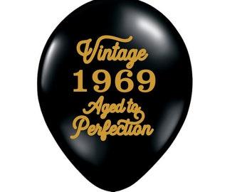 50th Birthday Balloons Party Decoration Mature Decor 50 1969