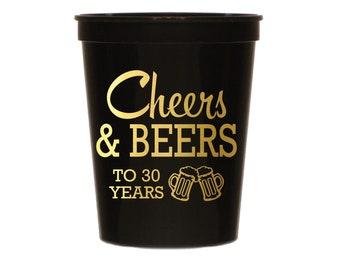 30th Birthday Cups