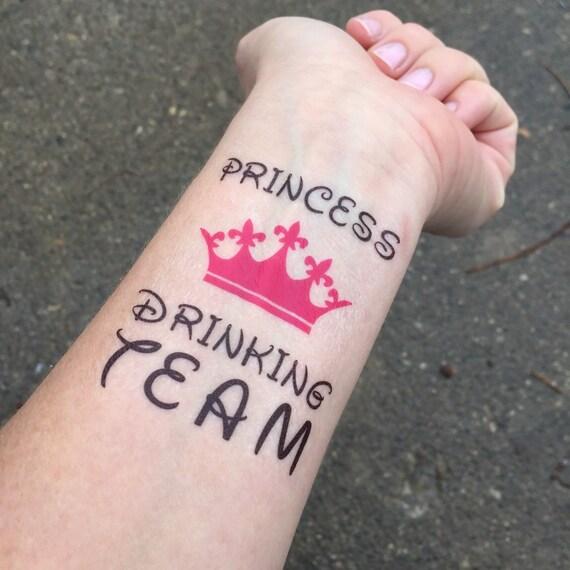 Equipo Bebe Princesa Princesa Fiesta De Cumpleaños Despedida Etsy