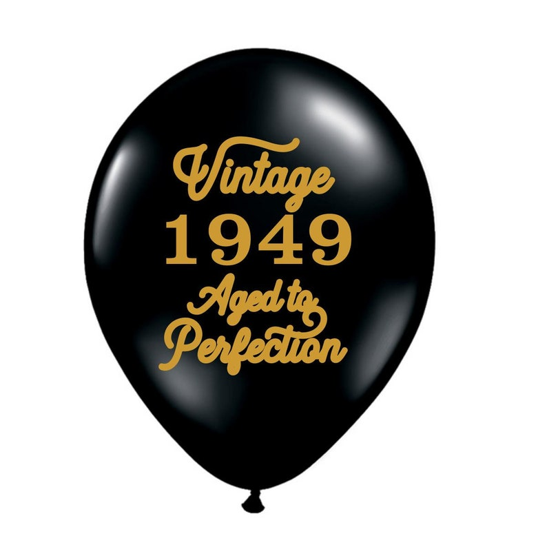 70th Birthday Balloon Decoration