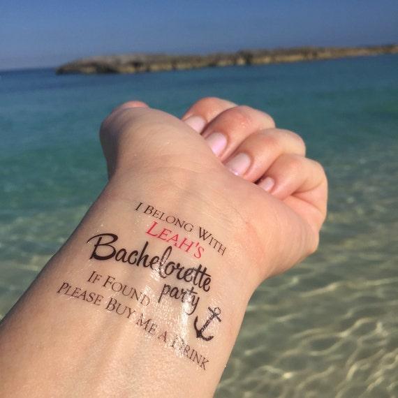 Buy Me A Drink Nautical Tattoo Nautical Bachelorette Etsy