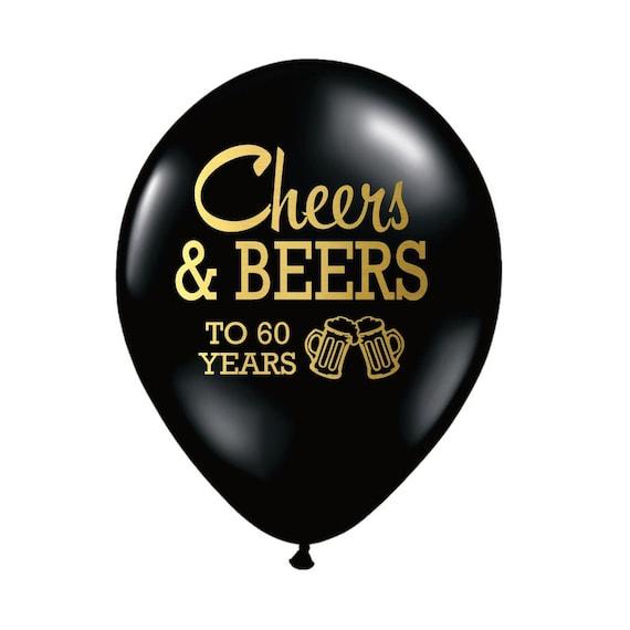 60th Birthday Balloon Decoration