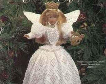 Victorian Crochet Christmas Angel PATTERN booklet