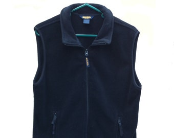 Women's Large Woolrich Vest Black