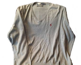 Large Polo by Ralph Lauren Lightweight Sweater