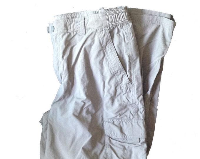 Men's Large-Regular LLBean Hiking Trail Cargo Pants
