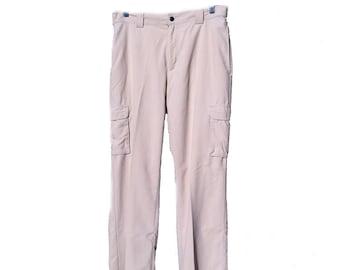 34W x 32L Duluth Trading Co Lightweight Nylon Cargo Pants