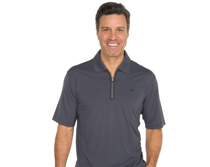 Men's XL Gander Mountain GSX Athletic Polo Shirt Gray
