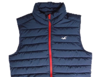 Men's Medium Hollister Lightweight Puffer Vest