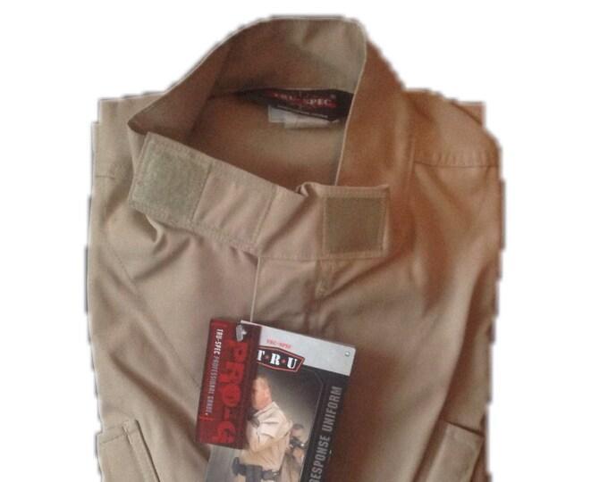 Tru-Spec Medium Long BDU Khaki Jacket