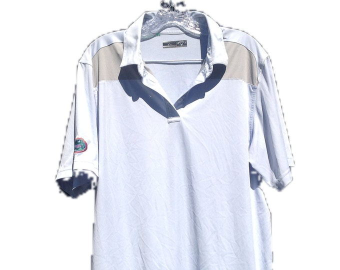 University of Florida Official Gators Athletic Callaway Golf Shirt Large