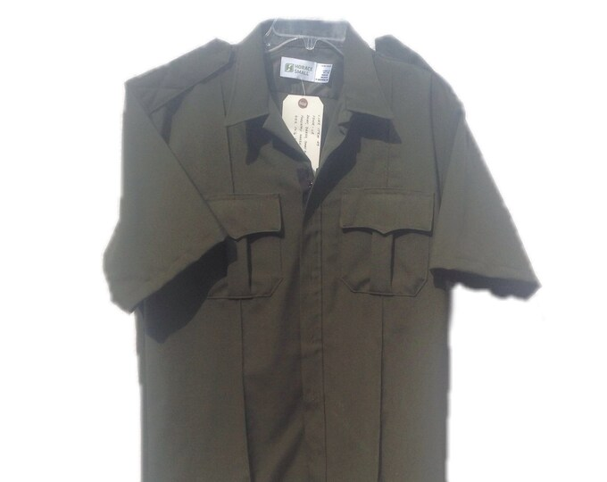 Men's 16-1/2 SS | Horace Small | VF Imagewear | Law Enforcement | Forestry Service | Short Sleeve Dress Shirt
