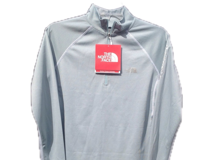 Women's Small The North Face Flight Series Icy Blue 1/4 Zip Shirt