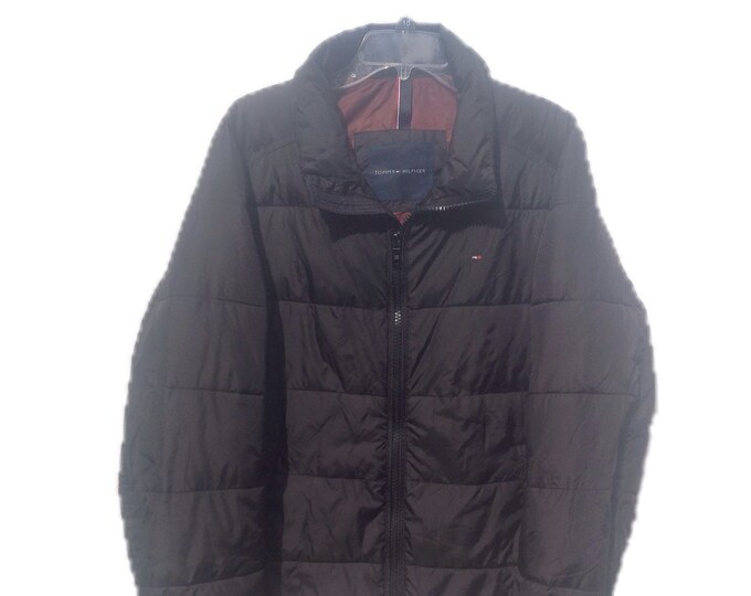 Men's Medium Tommy Hilfiger Black Jacket