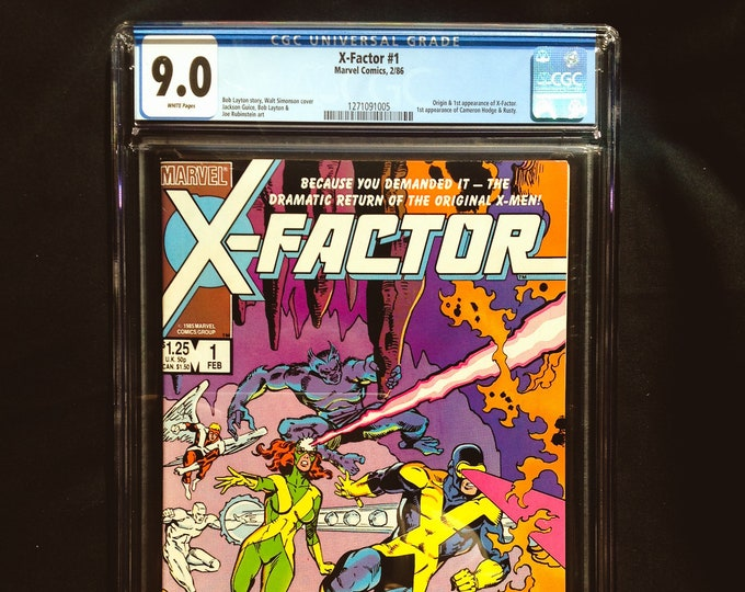 X-Factor #1 CGC 9.0