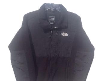 Women's Medium The North Face Black Polartec Fleece Jacket