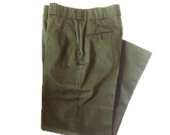 35 Regular Flying Cross Freedom Fit® by Fechiemer Trousers Uniform Pants Green