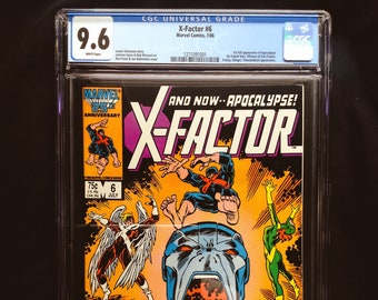 X-Factor #6 CGC 9.6