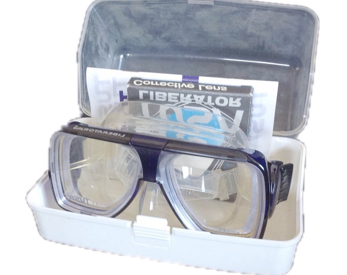 TUSA TM-5700Q Liberator Plus Dive Mask with Corrective Lenses -2.5 Purple