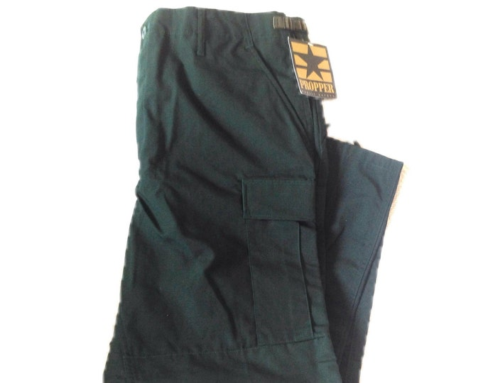 Propper Large Regular Spruce Green BDU  Tactical Pants New Old Stock Combat Trousers