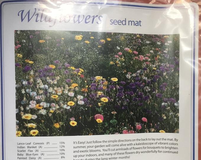 Wildflowers Seed Mat