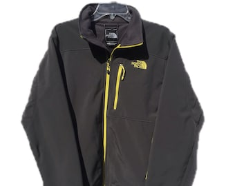 Men's Medium The North Face Apex Bionic Grey Trail Jacket