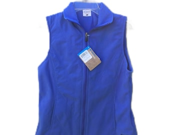 Women's Small Columbia Catalina Crest Vest Blue