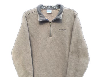 Men's Medium Columbia 1/4 Zip Sweater