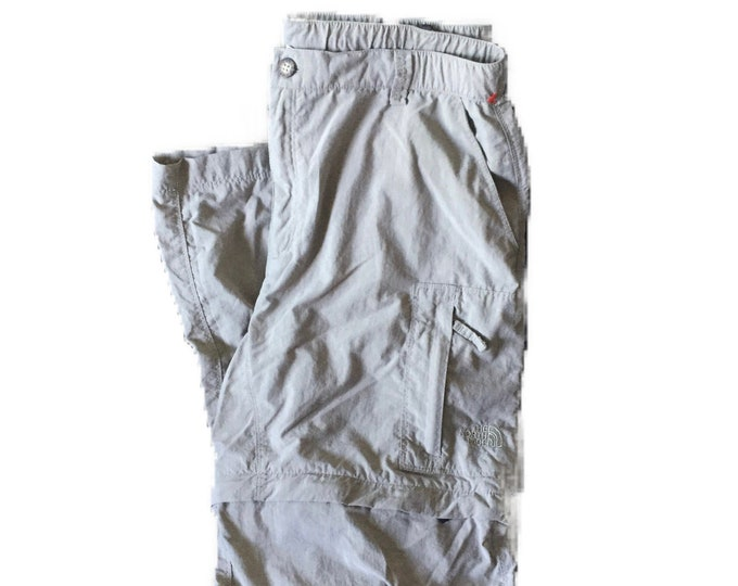 Women's Size Medium The North Face Classic Nylon Convertible Hiking Pants