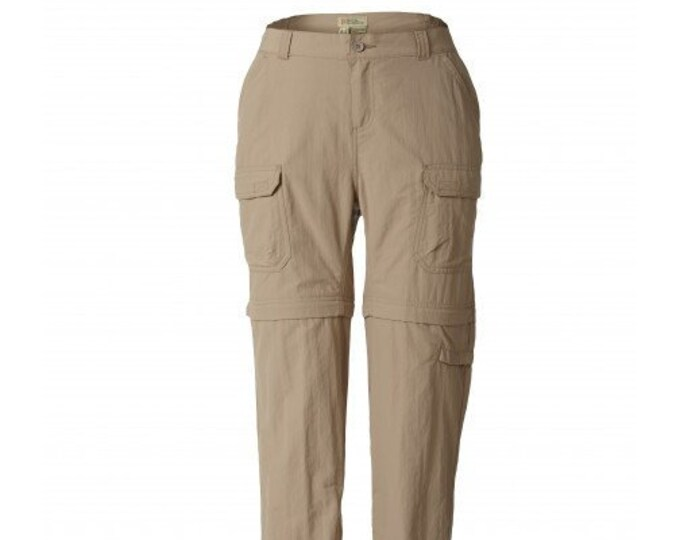 Women's Size 12 Royal Robbins CLASSIC ZIP N GO Convertible Cargo Pants